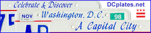 Collage of three D.C. plates.