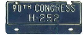 90th Congress (House of Rep.) permit no. H-252