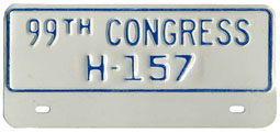 99th Congress (House of Rep.) permit no. H-157