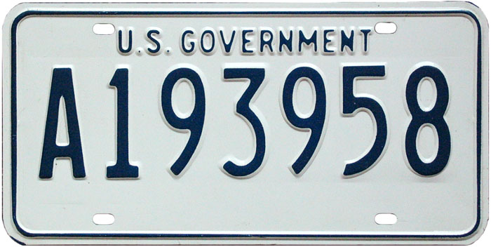 I'd like to hear your opinion on this license plate wanted