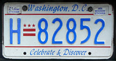 1997 base Hire plate no. H-82852