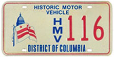 Historic Motor Vehicle plate no. 116