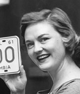 Click here to return to the 1960 section of the 1960s plates page.
