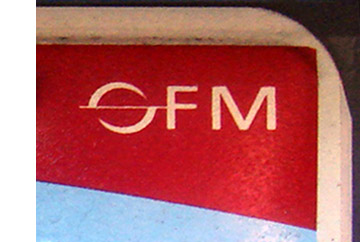 Detail of Office of Foreign Missions seal on the 2007 OFM base