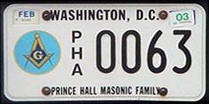D C  Organizational License Plate Program