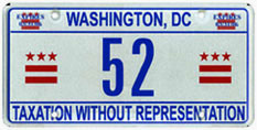 2005 reserved plate no. 52