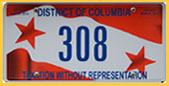 2013 (exp. 3-31-2014) reserved-number plate no. 308