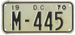 1955 (exp. 3-31-56) motorcycle plate no. M-378