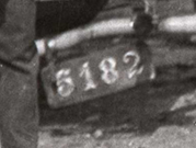 early Maryland plate no. 5182