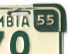 1954 plate detail